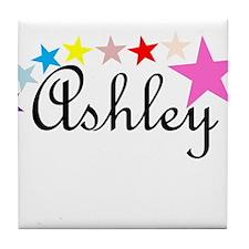 Named Shirts - Ashley Tile Coaster