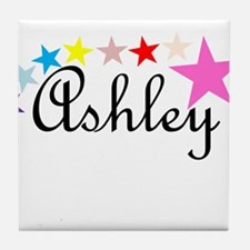 Named Shirts - Ashley Tile Coaster
