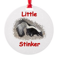 Little Stinker (Baby Skunk) Ornament