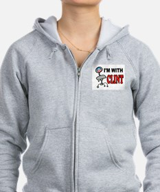 OBAMA EMPTY CHAIR Zip Hoodie