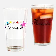 Starry Amanda Drinking Glass