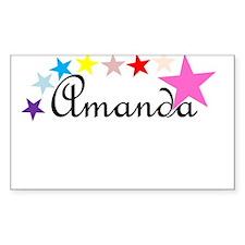 Starry Amanda Decal