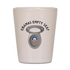 Obama Empty Chair - Toilet Seat Shot Glass