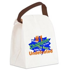 Number One Champ Canvas Lunch Bag