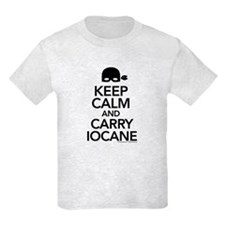 Keep Calm and Carry Iocane Kids T-Shirt