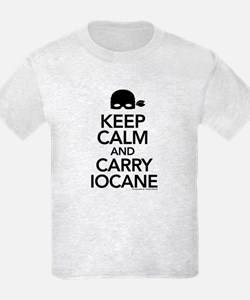 Keep Calm and Carry Iocane Kids T-Shirt