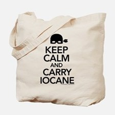 Keep Calm and Carry Iocane Tote Bag