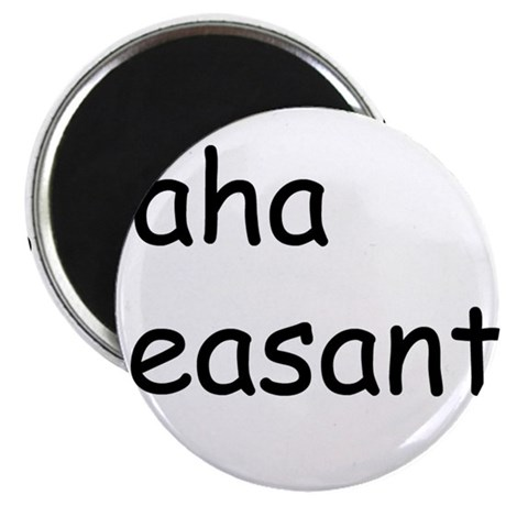 "peasants 2.25"" Magnet (100 pack)"
