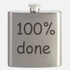100 percent done Flask