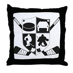 hockeycrest Throw Pillow