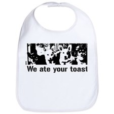 We (the corgis) ate your toast Bib