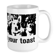 We (the corgis) ate your toast Mug