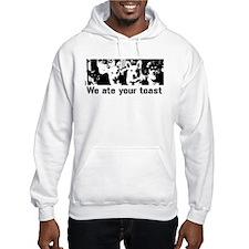 We (the corgis) ate your toast Hoodie