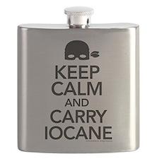 Keep Calm and Carry Iocane Flask