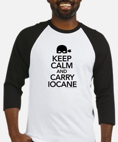 Keep Calm and Carry Iocane Baseball Jersey