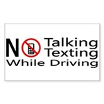 notalking_notexting.png Sticker (Rectangle)
