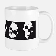 chain of skulls bonehouse Mug