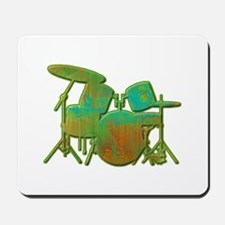 Funky Drumset Mousepad