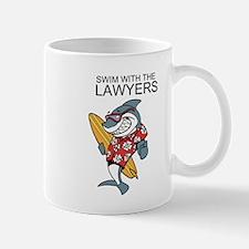 Swim With The Lawyers Mug