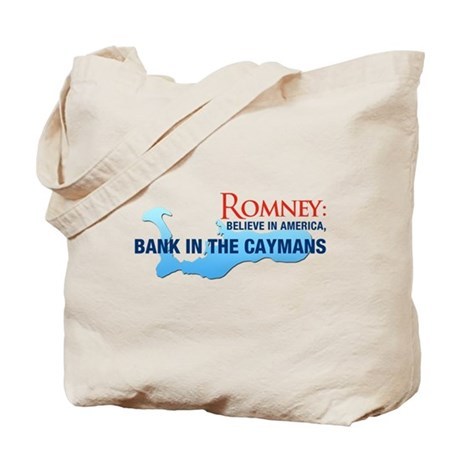 Romney Bank in Caymans Tote Bag