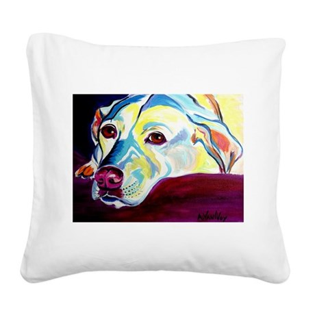 Lab #1 Square Canvas Pillow