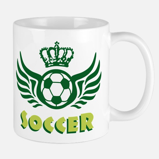 soccer wings crown Mug