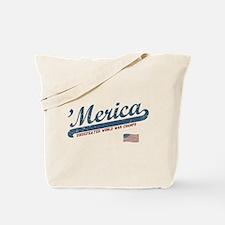 Vintage Team 'Merica Tote Bag