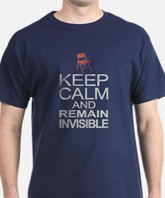 Obama Empty Chair - Remain Invisible T-Shirt