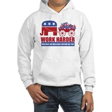 Work Harder Jumper Hoody