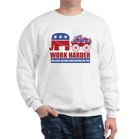 Work Harder Sweatshirt
