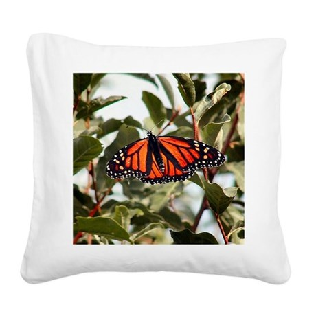 """Majestic """"Monarch Butterfly"""" Square Canv"""