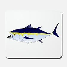 Bluefin Tuna fish Mousepad