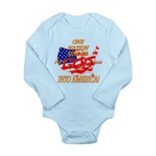 Put God Back Long Sleeve Infant Bodysuit