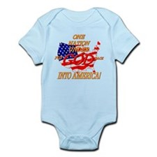Put God Back Infant Bodysuit
