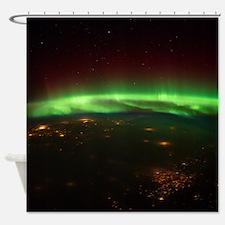 Aurora Borealis Midwest Shower Curtain