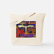 HOPE AND CHANGE SONG - ORANGE Tote Bag