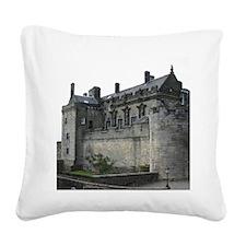 Stirling Castle Square Canvas Pillow