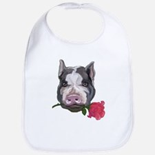 pot bellied pig Bib