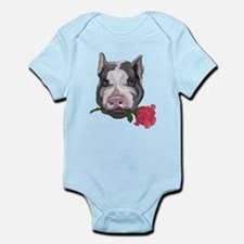 pot bellied pig Infant Bodysuit