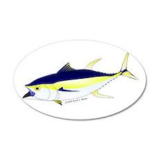 Yellowfin Tuna (Allison Tuna) Wall Decal