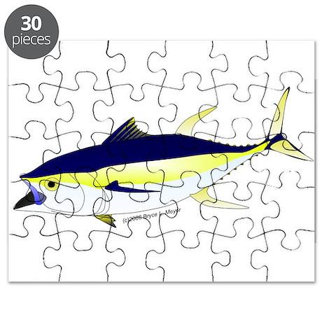 Yellowfin Tuna (Allison Tuna) Puzzle