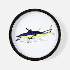 Yellowfin Tuna (Allison Tuna) Wall Clock