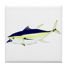 Yellowfin Tuna (Allison Tuna) Tile Coaster