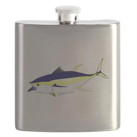 Yellowfin Tuna (Allison Tuna) Flask