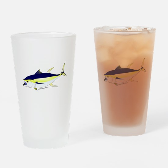 Yellowfin Tuna (Allison Tuna) Drinking Glass