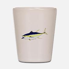 Yellowfin Tuna (Allison Tuna) Shot Glass