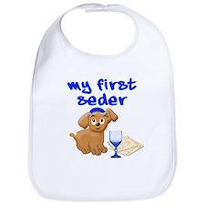 my first Seder Bib