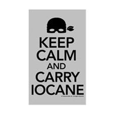 Keeo Calm and Carry Iocane Decal