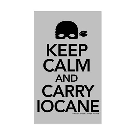 Keeo Calm and Carry Iocane Sticker