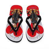 Doberman Flip Flops
